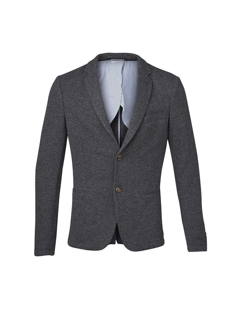 Knowledge Cotton Knowledge Cotton Knitted Pique Blazer