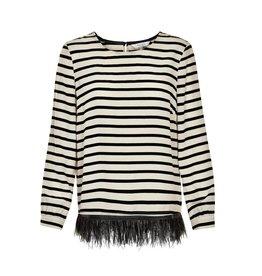 Part Two Fabienne Stripe top