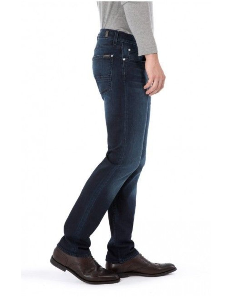 7 For All Mankind Lux Slimmy Performance Huntley Dark Blue