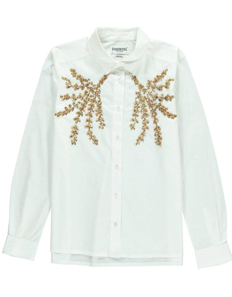 Essentiel Ninga sequin shirt