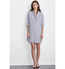 Velvet Ivy stripe dress