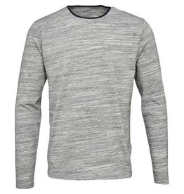 Knowledge Cotton Knowledge Cotton Grey Long Sleeve T Shirt