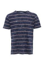 Knowledge Cotton Knowledge Cotton Denim Stripe T Shirt