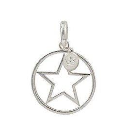 Sence Silver Star Charm
