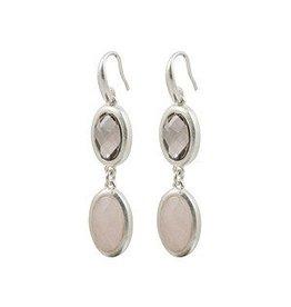 Sence Blu moon silver earrings
