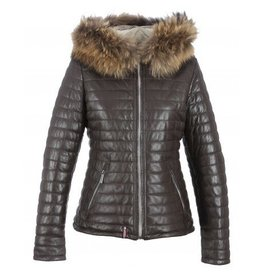 Oakwood Happy Padded Leather Coat