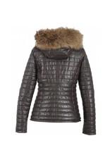 Oakwood Happy Padded Leather Coat