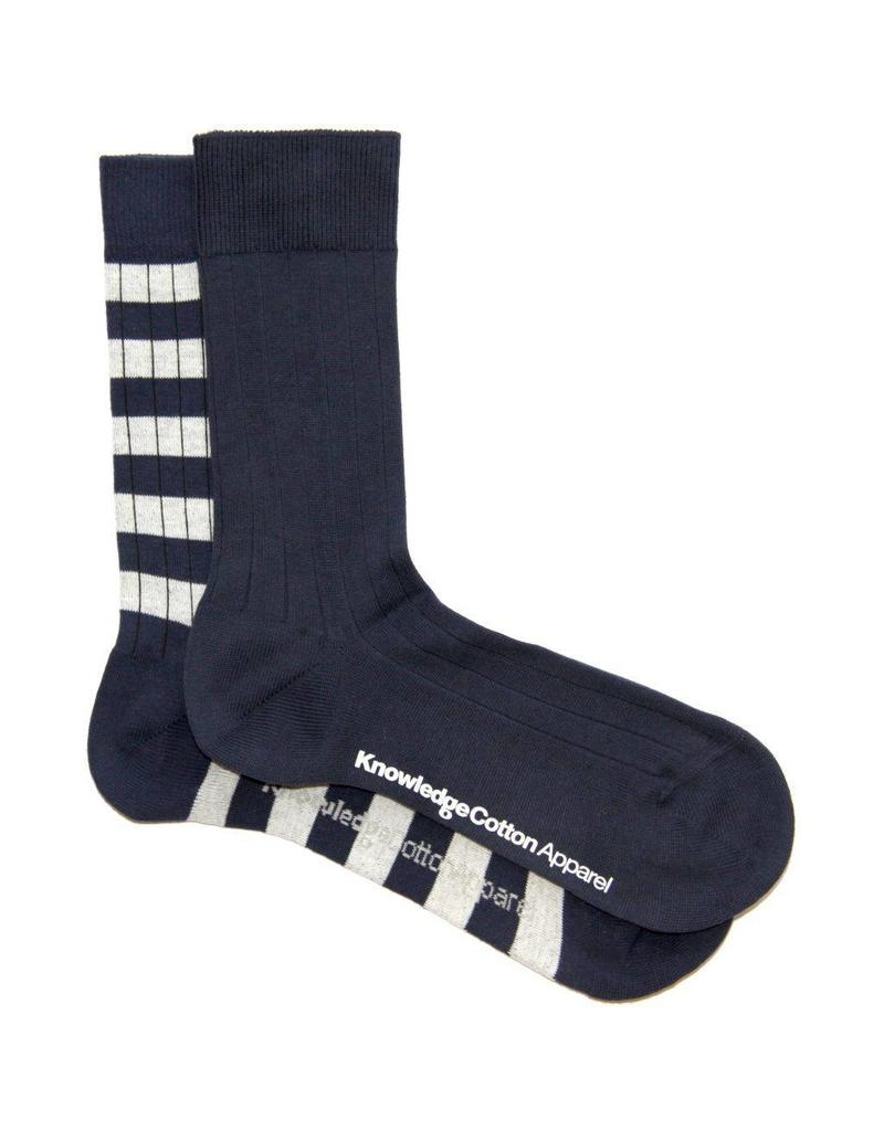 Knowledge Cotton 2 Pack Socks