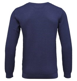 Knowledge Cotton Pattened Knit Jumper