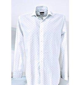 Delsiena Navy Spot Shirt