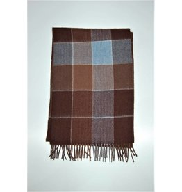 Amanda Christensen Big Check Scarf