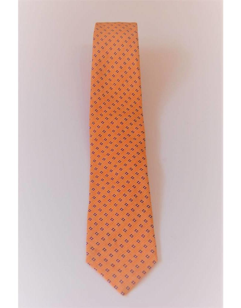 Amanda Christensen Orange Diamomd Tie s17