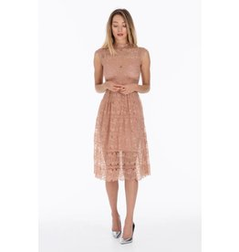 Body Frock Charlotte Peach Dress