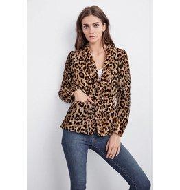 Velvet Calla Animal jacket
