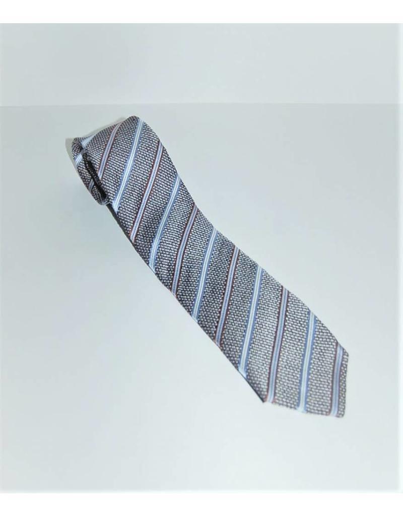 Amanda Christensen Linen Stripe Tie