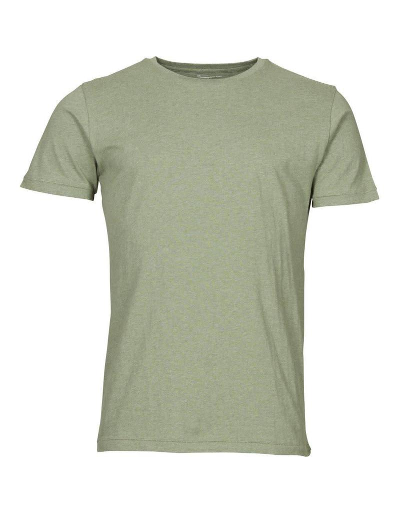 Knowledge Cotton Plain T Shirt