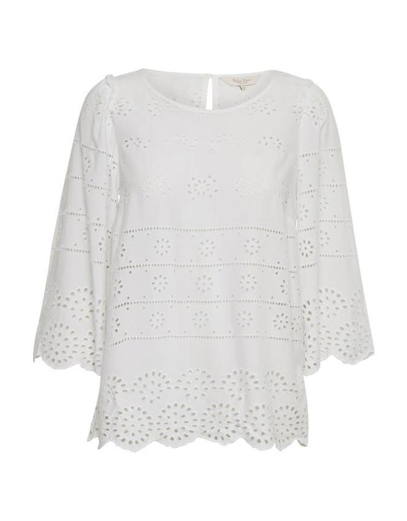 Part Two Lark Broderie Top