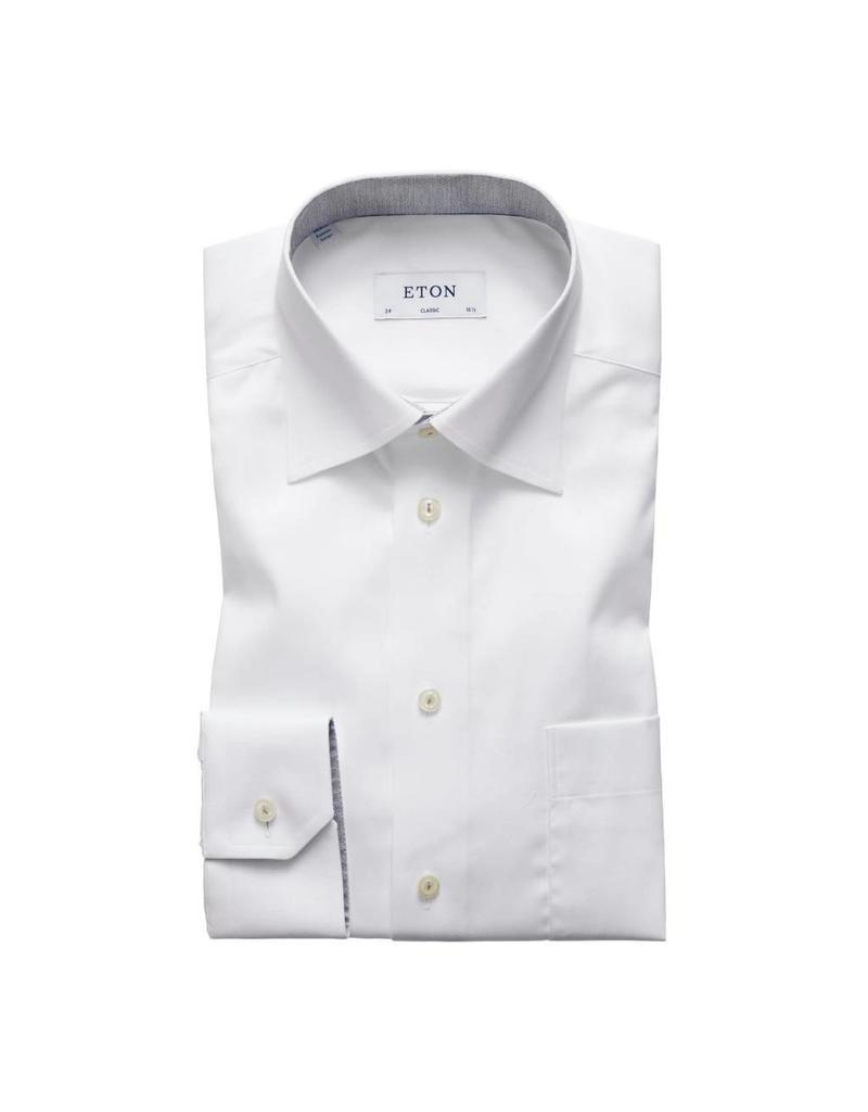 Eton Grey Trim Shirt