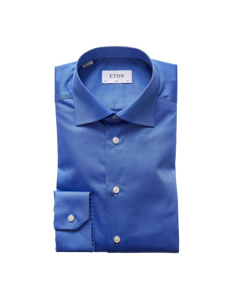 Eton Red Trim Shirt