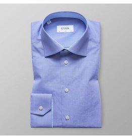 Eton Small Check Slim Fit Shirt
