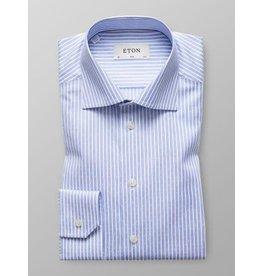 Eton Stripe Jacquard Slim Fit Shirt