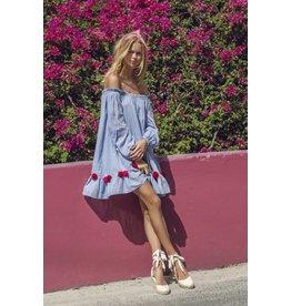 Sundress Charlotte Chambray Dress