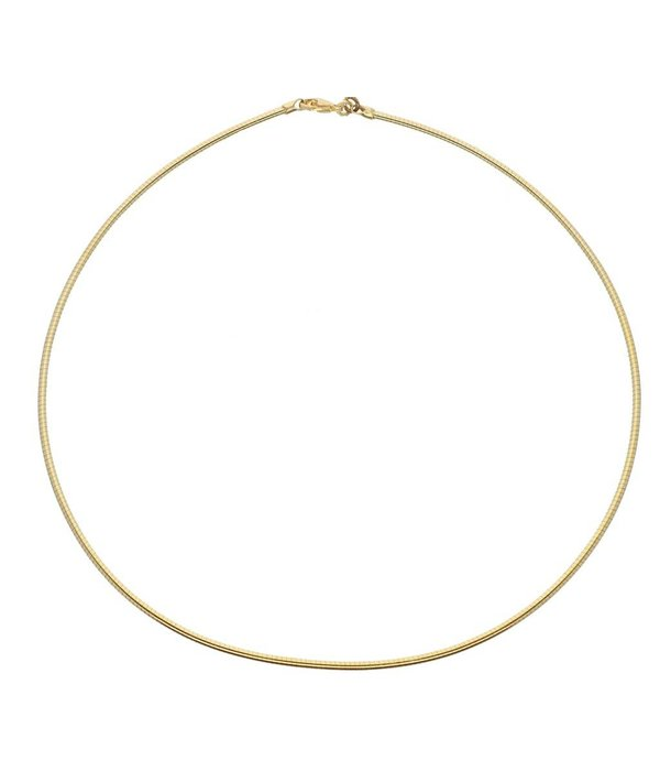 Best basics Doublé omegacollier - 45 mm - 2.0 mm - rond -