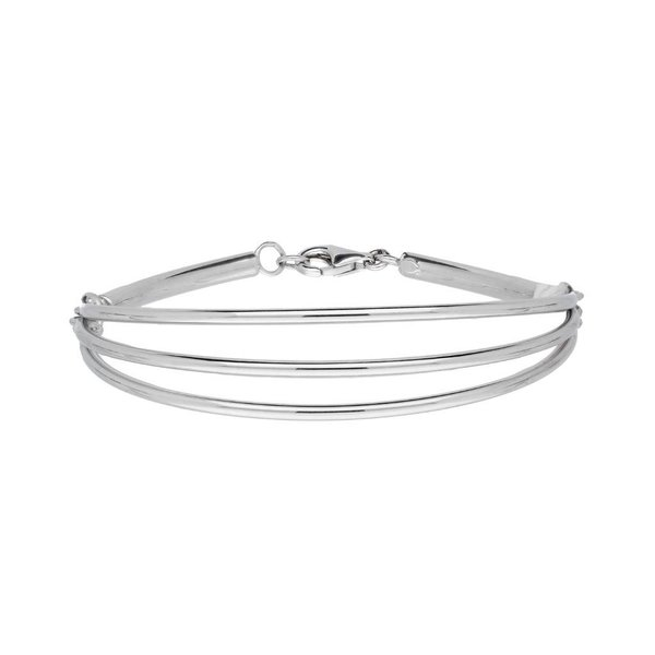 Zilveren armband - bewerkt