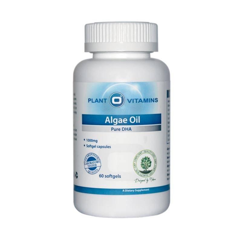 Plant O'Vitamins ALGAE OIL Plantovitamins