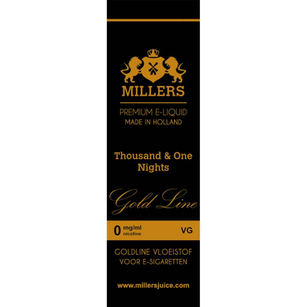 Millers Juice E-Liquid - Thousand & One Nights