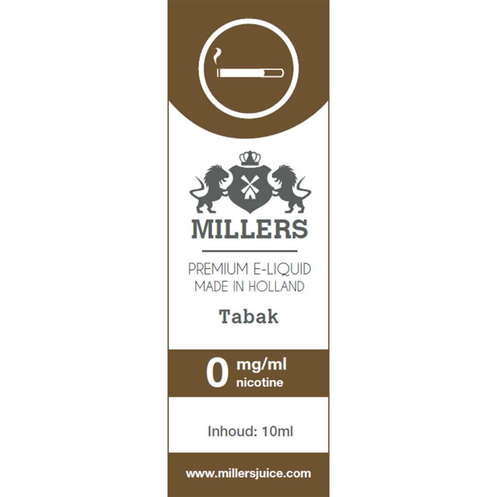 Millers Juice tabak e-liquid