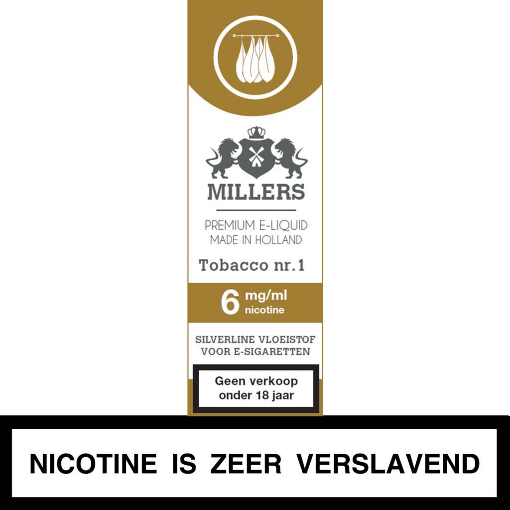 Millers Juice tobacco nr.1 e-liquid