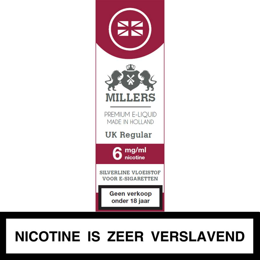 Millers Juice UK Regular e-liquid