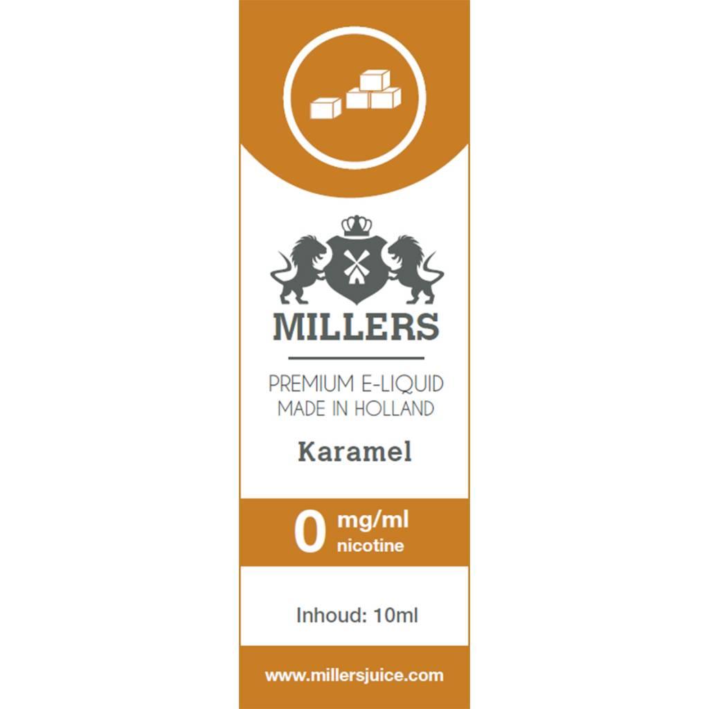 Millers Juice caramel e-liquid