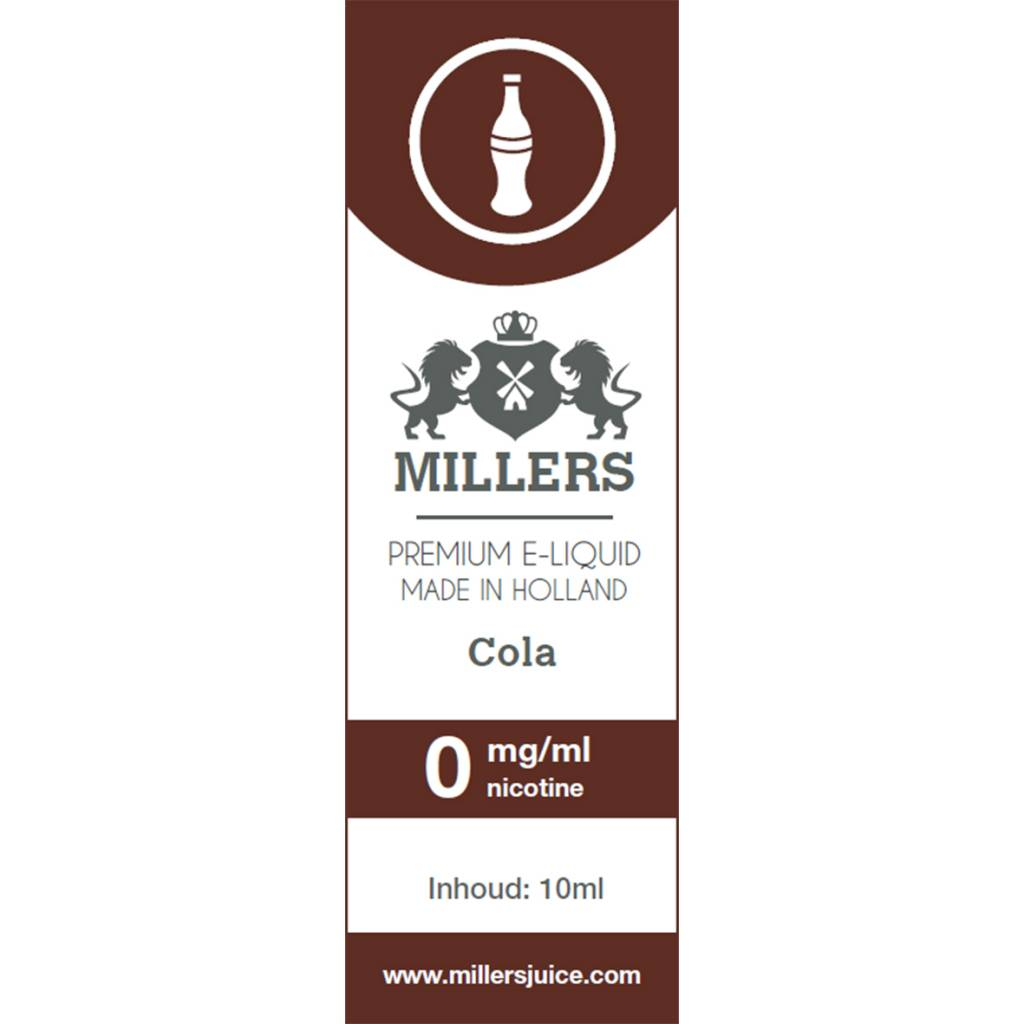 Millers Juice cola e-liquid