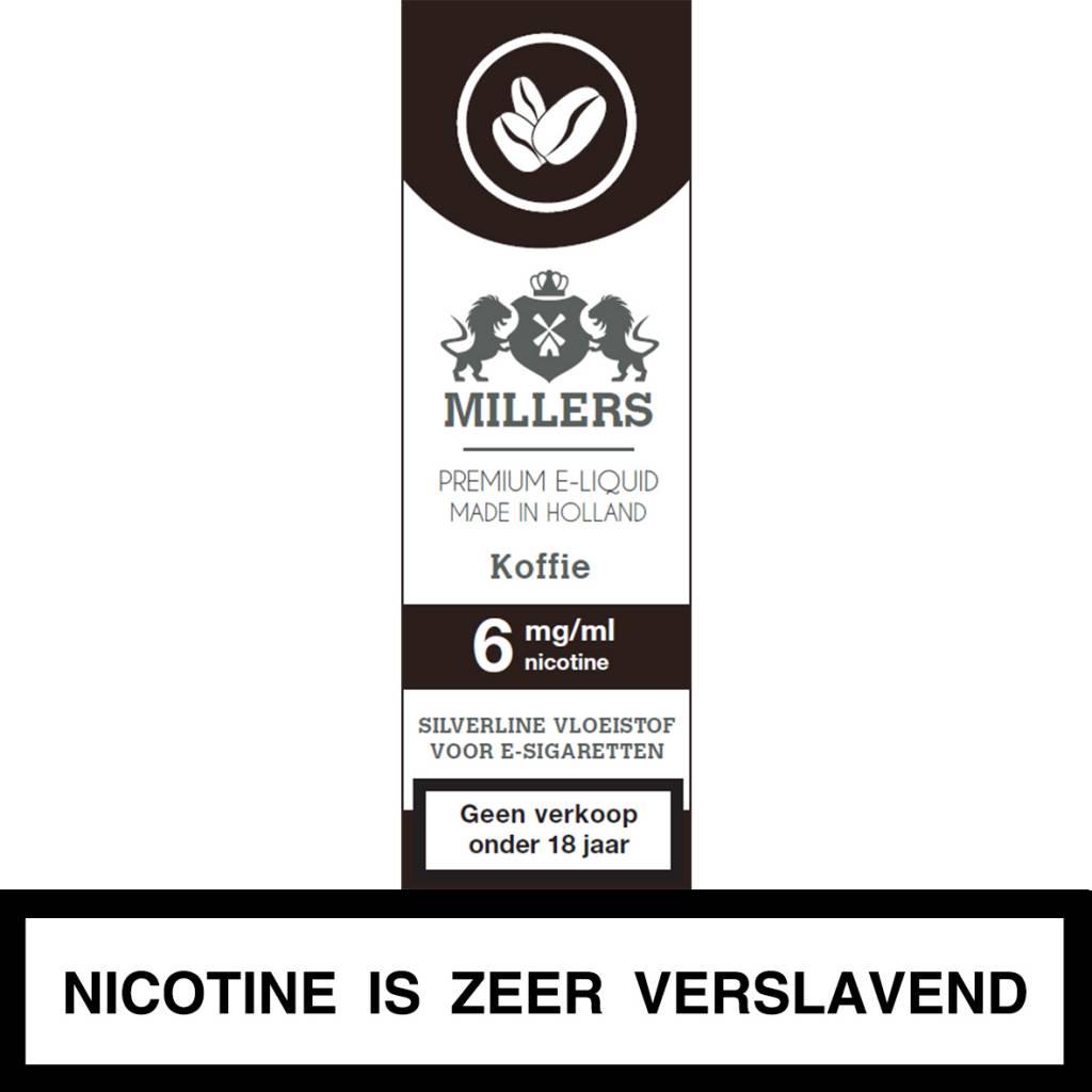 Millers Juice koffie e-liquid