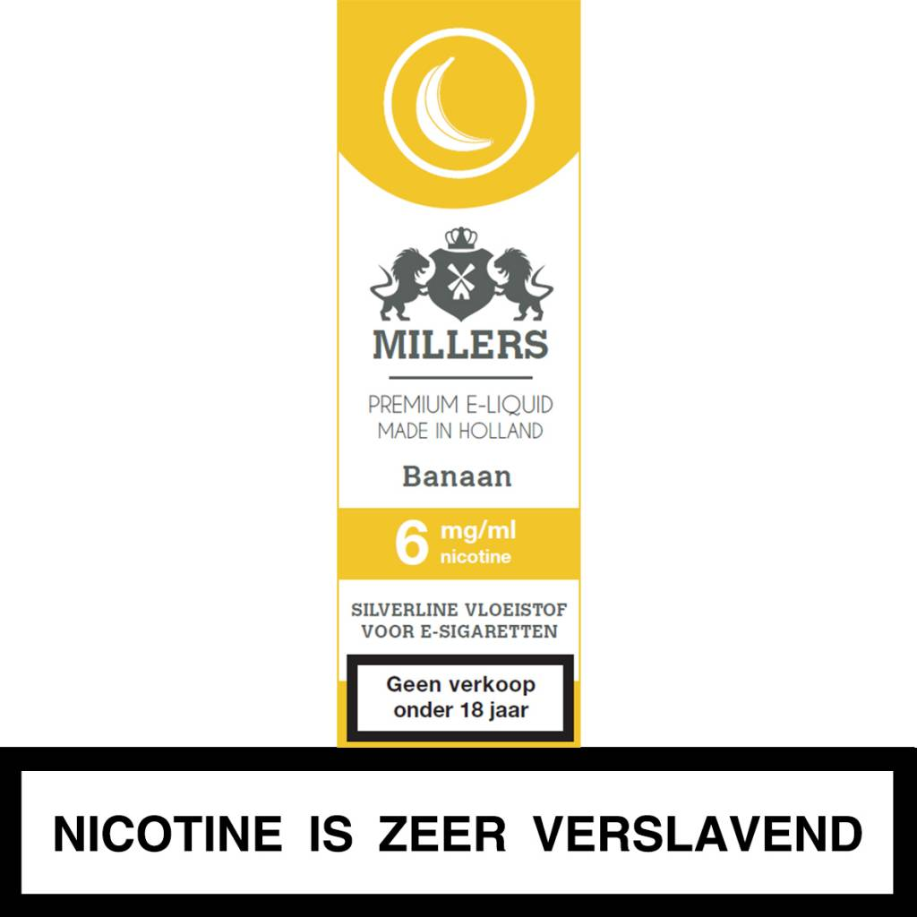 Millers Juice banaan e-liquid