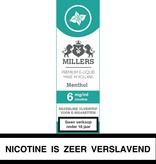 Millers Juice menthol e-liquid