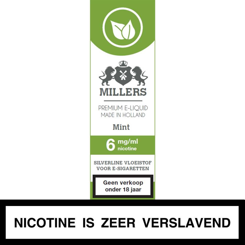 Millers Juice mint e-liquid