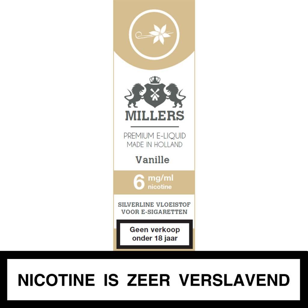 Millers Juice vanille e-liquid