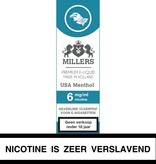 Millers Juice USA menthol e-liquid
