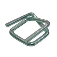 Metalen gespen, CB6, voor omsnoeringsband - 19mm