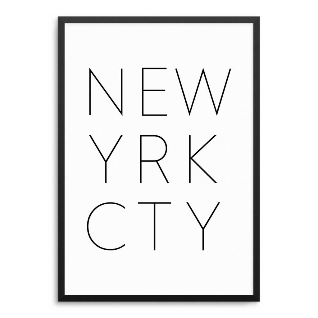 Lovely Bird NEW YORK CITY Poster