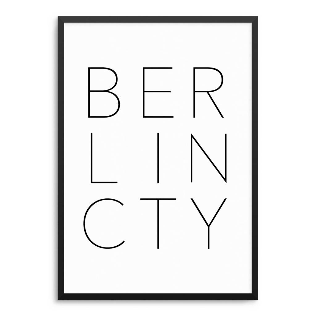 Lovely Bird BERLIN CITY Poster