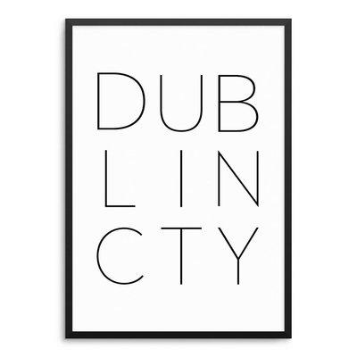 DUBLIN CITY Poster