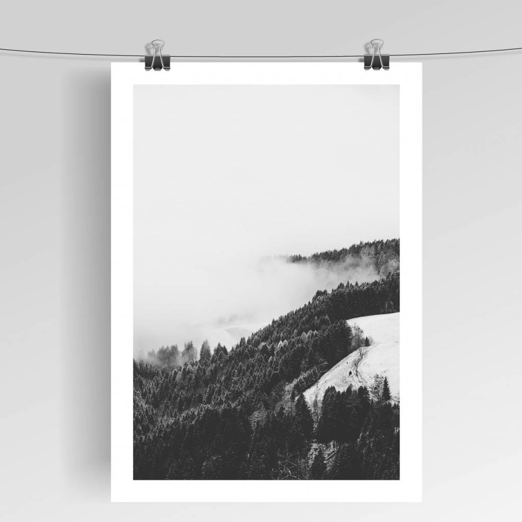 Lovely Bird Forest No. 2 Poster