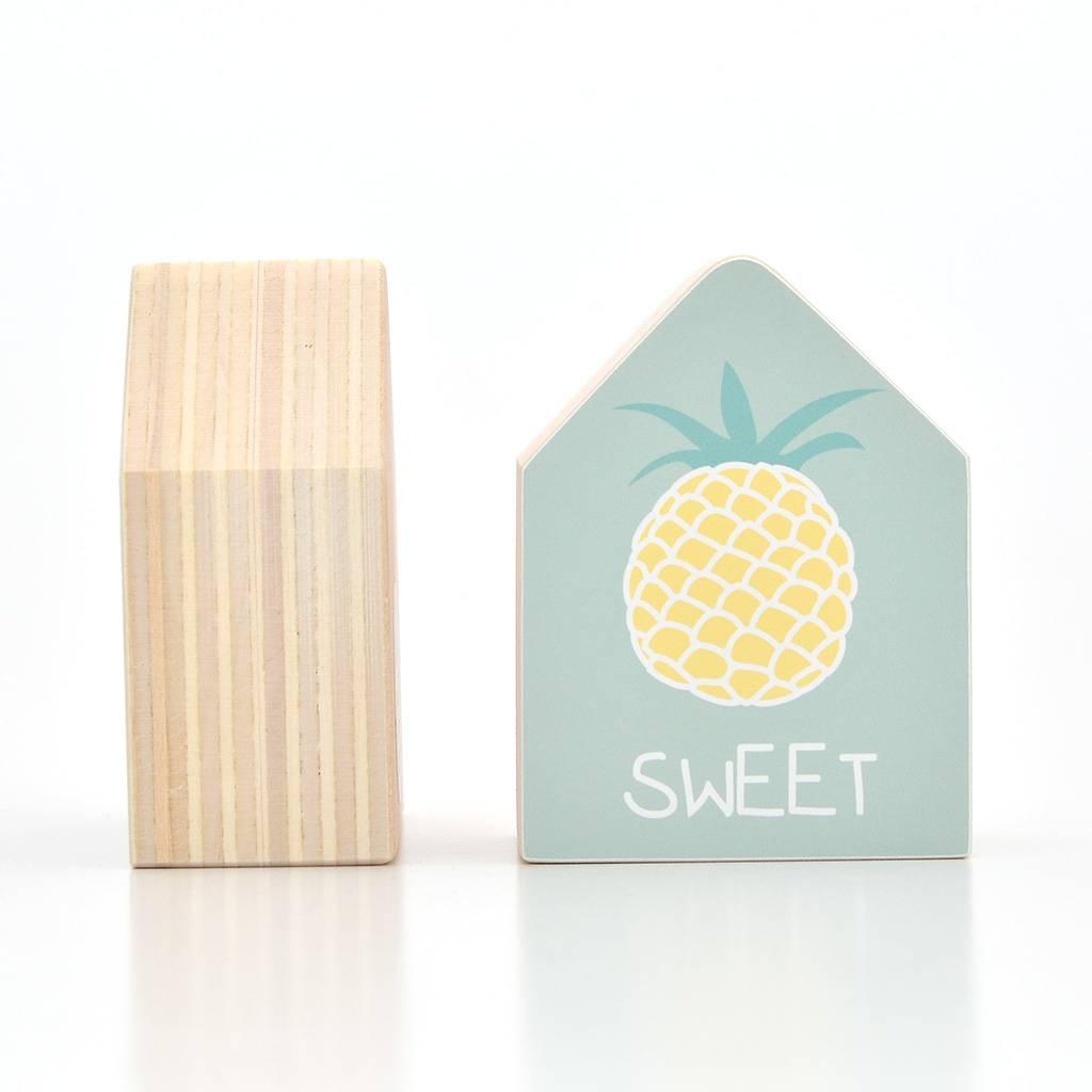 Dots Lifestyle Holzhaus Ananas