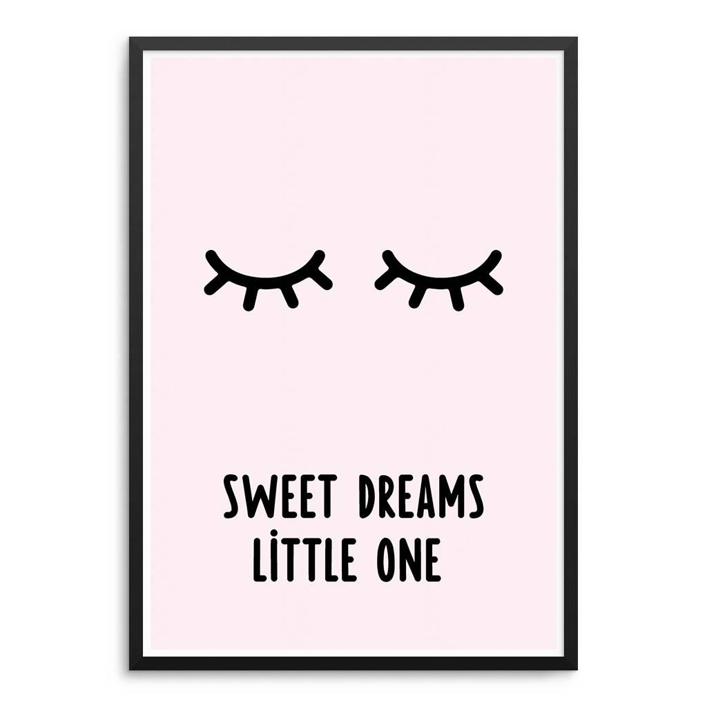 Lovely Bird Sweat Dream Little One Poster
