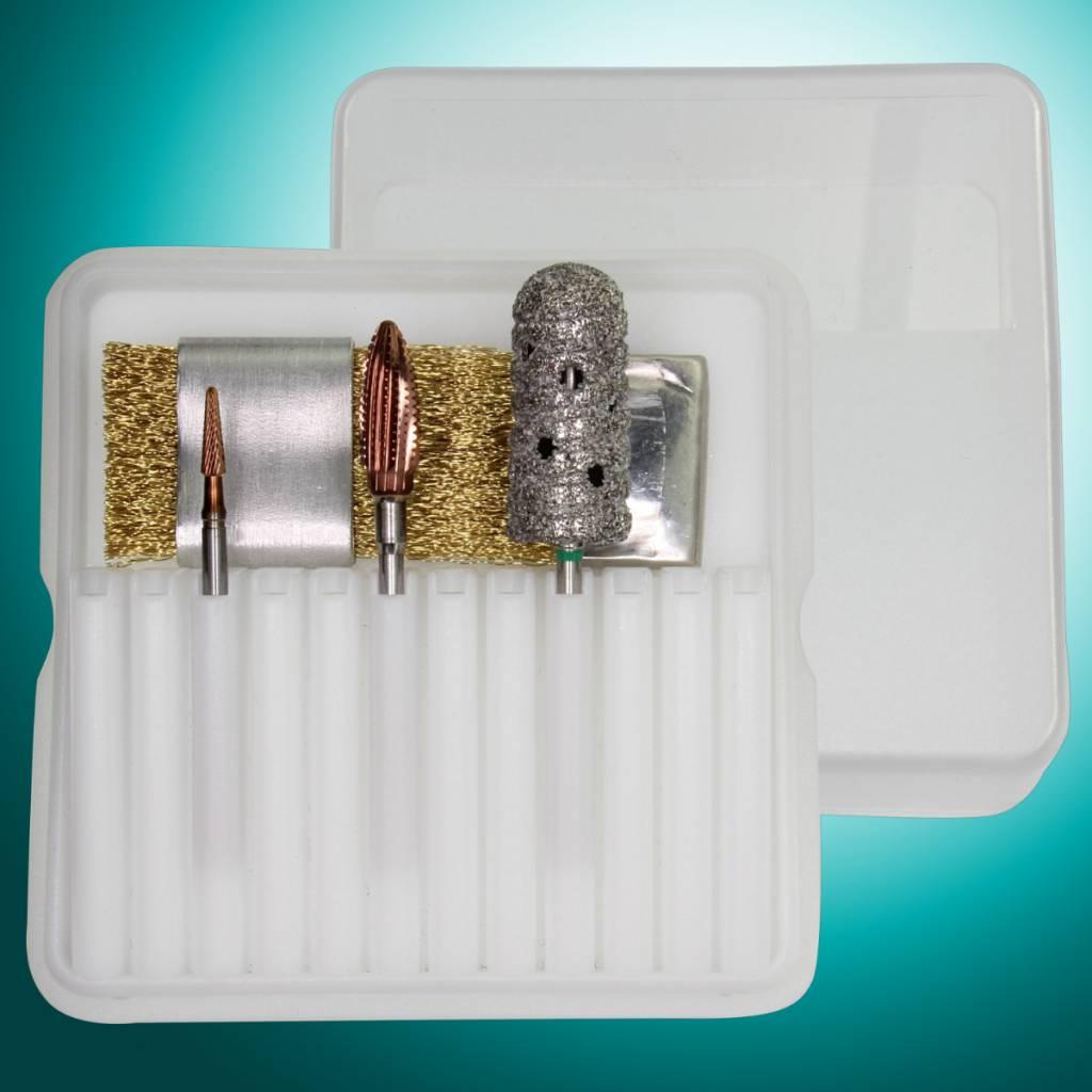 Nano-Powernitrid Pediküre-Set Nr. 4 400
