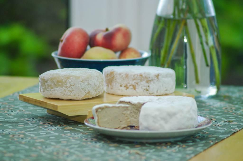 Penicillium candidum (up to 40 cheeses)